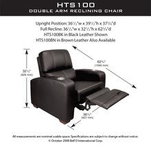 Кресло Bello HTS100BK для домашнего кинотеатра