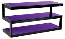 Тумба под телевизор Norstone Esse Black-Purple